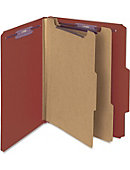 Smead Pressboard Classification File Folder with SafeSHIELD Fasteners - ONLINE ONLY