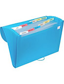 Poly Expandable 13 Pocket Files Asst
