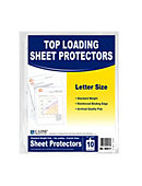 Sheet Protectors Poly 10PK Clear