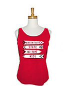 Winston-Salem State University Women's Scoop Tank Top