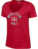Winston-Salem State University Rams Women's V-Neck T-Shirt