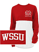Winston-Salem State University Rams Women's Ra Ra T-Shirt