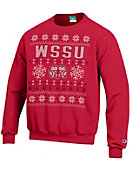 Winston-Salem State University Ugly Sweater Crewneck Sweatshirt