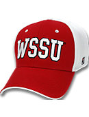 Winston-Salem State University Stretch Fitted Micro Mesh Cap