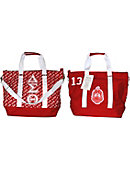 Winston-Salem State University Greek Canvas Bag