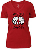 Winston-Salem State University Women's V-Neck T-Shirt