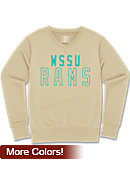 Winston-Salem State University Rams Women's Long Sleeve V-Neck Fleece