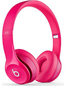 Beats Solo2 On-Ear Headphones Pink