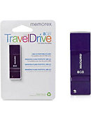 DRIVE USB 8GB MINI PURPLE