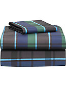 Twin XL 3-Piece Sheet Set-Navy Hampton - ONLINE ONLY