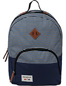 Benrus Bulldog Backpack Navy Stripe