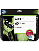 INK HP 60 COMBO CARTRIDGE D8J23FN#140