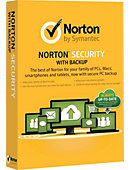 Symantec Norton Security with Backup 2.0 1 User 10 Devices