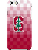 Stanford iPhone 6 Pixel Stripe Frosted Deflector Case