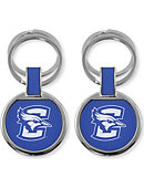 Creighton University Bluejays Double Ring Keychain