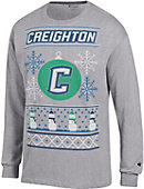 Creighton University Ugly Sweater Long Sleeve T-Shirt