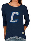 Creighton University Women's Long Sleeve Scoopback Tri-Blend T-Shirt