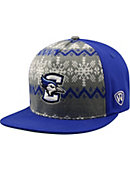 Creighton University Bluejays Christmas Flatbill Snapback Cap