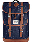 Benrus Scout Backpack Navy Stripe