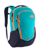The North Face Vault Backpack - Enamel Blue / Shocking Orange