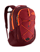 The North Face Jester Backpack - Brick House Red / Shocking Orange