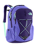 The North Face Women's Jester Backpack - Garnet Purple / Surf Green