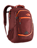 The North Face Pivoter Backpack - Brick House Red / Shocking Orange