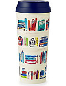 Kate Spade 16 OZ THERMAL MUG LIKE A BOOK