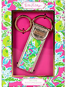 Lilly Pulitzer KEY FOB PINK LEMONADE