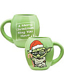 Star Wars Yoda Merry Christmas 18 oz, Mug
