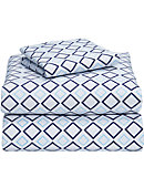 Twin XL 3-Piece Sheet Set-Blue Lennox - ONLINE ONLY