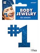 Blue Body Jewelry 2in x 2in