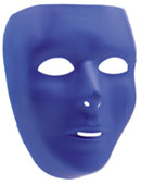 Basic Blue Face Mask