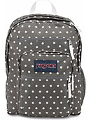 Jansport Big Student Backpack Shady Grey/White Dots