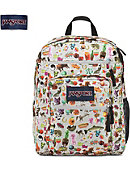 Jansport Big Student Backpack Multi Stickers