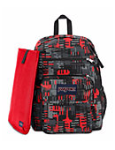 Jansport Digital Student Backpack Red Checkers