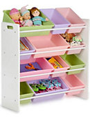 Kids Sort Store Organizer White Frame - ONLINE ONLY