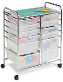 12 Drawer Rolling Cart - ONLINE ONLY