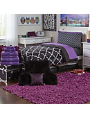 Large Scatter Shag Rug Grape - ONLINE ONLY