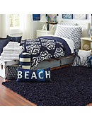 Large Scatter Shag Rug Navy - ONLINE ONLY