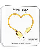 Happy Plugs Lightning USB to USB Charge & Sync Cable -Gold - 2m