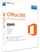 Microsoft Office 365 Personal Subscription - PC/MAC