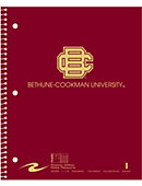 Bethune-Cookman University 100 Sheet One-Subject Notebook