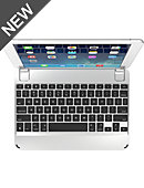 Brydge 9.7 Aluminum Bluetooth Keyboard iPad Pro 9.7/iPad Air 1/2, Silver - ONLINE ONLY