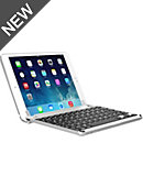 Brydge 7.9 Aluminum Bluetooth Keyboard iPad Mini 4, Silver - ONLINE ONLY