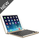 Brydge 7.9 Aluminum Bluetooth Keyboard iPad Mini 4, Gold - ONLINE ONLY