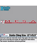 Mesa Community College Strip Decal