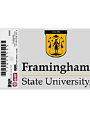 Framingham State University Cling Decal