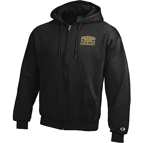 Product: Framingham State University Rams Full-Zip Hooded Sweatshirt