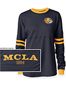 Massachusetts College of Liberal Arts Trailblazers Women's Ra Ra Long Sleeve T-Shirt
